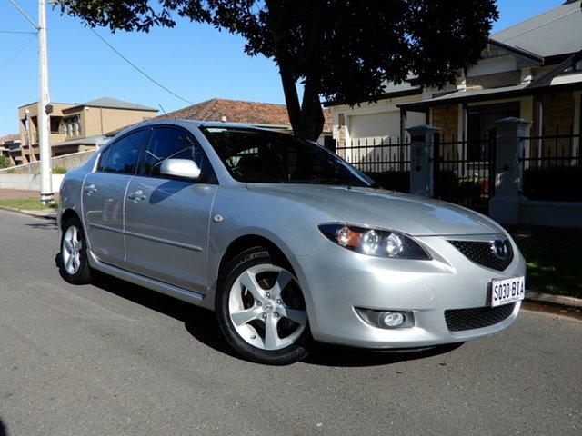 Used Mazda 3 BK10F1 Maxx Sport, 2005 Mazda 3 BK10F1 Maxx Sport Silver 4 Speed Sports Automatic Sedan