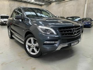 2012 Mercedes-Benz M-Class W166 ML250 BlueTEC 7G-Tronic + Grey 7 Speed Sports Automatic Wagon.