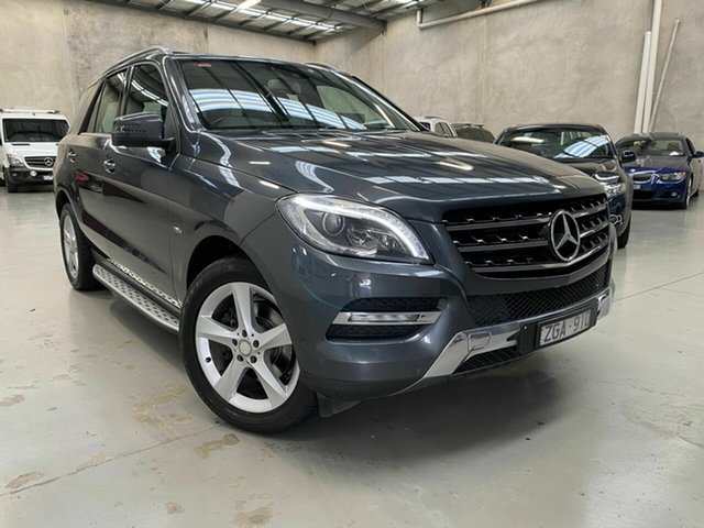 Used Mercedes-Benz M-Class W166 ML250 BlueTEC 7G-Tronic +, 2012 Mercedes-Benz M-Class W166 ML250 BlueTEC 7G-Tronic + Grey 7 Speed Sports Automatic Wagon