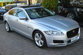 2015 Jaguar XF X260 MY16 20d Prestige Silver Metallic 8 Speed Sports Automatic Sedan.
