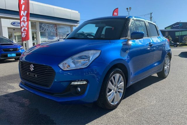 Used Suzuki Swift AL GL Navigator, 2019 Suzuki Swift AL GL Navigator Blue Constant Variable Hatchback