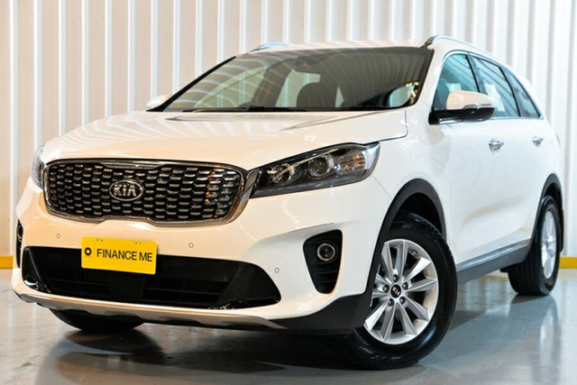 Used Kia Sorento UM MY19 SI, 2018 Kia Sorento UM MY19 SI White 8 Speed Sports Automatic Wagon