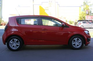2016 Holden Barina TM MY16 CD Red 5 Speed Manual Hatchback.