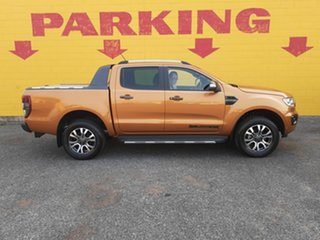 2019 Ford Ranger PX MkIII 2019.00MY Wildtrak Pick-up Double Cab Orange 10 Speed Sports Automatic