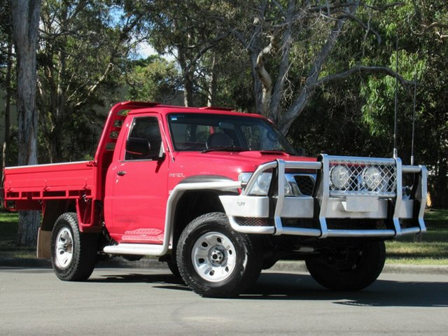 Used Nissan Patrol GU 6 MY08 DX, 2009 Nissan Patrol GU 6 MY08 DX Red 5 Speed Manual Cab Chassis