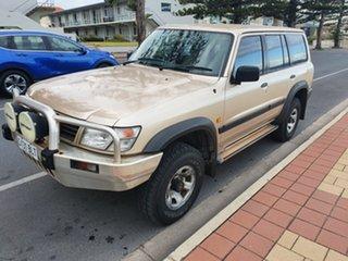 1998 Nissan Patrol GU ST Golden Sand 5 Speed Manual Wagon.