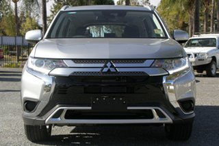 2019 Mitsubishi Outlander ZL MY20 ES 2WD Sterling Silver 6 Speed Constant Variable Wagon