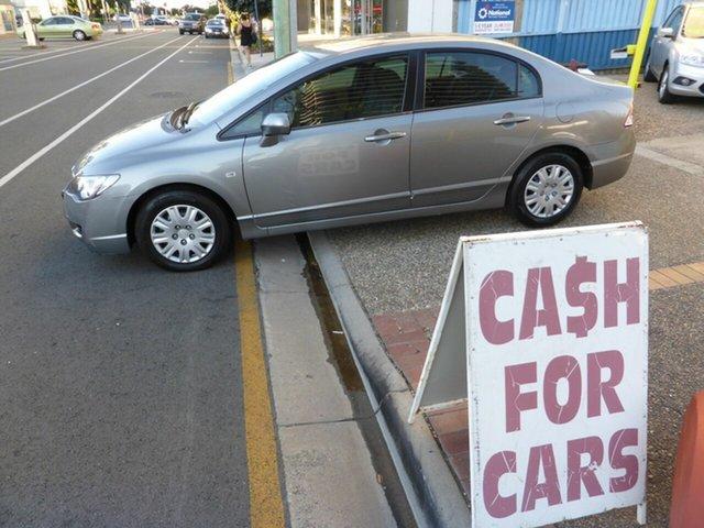 Used Honda Civic 40 VTi, 2006 Honda Civic 40 VTi Silver 5 Speed Automatic Sedan