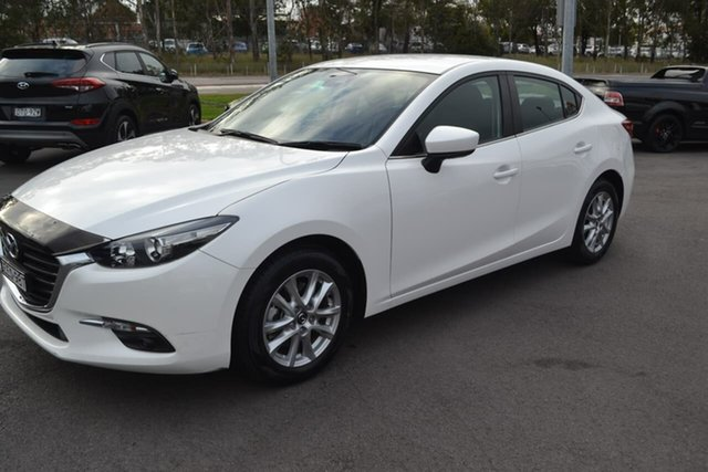 Used Mazda 3 BN5278 Maxx SKYACTIV-Drive, 2017 Mazda 3 BN5278 Maxx SKYACTIV-Drive White 6 Speed Sports Automatic Sedan