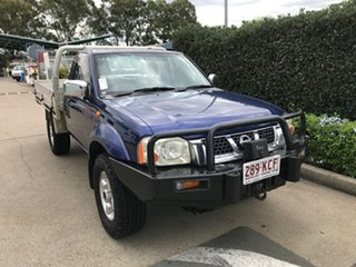 2006 Nissan Navara D22 S2 ST-R Blue 5 speed Manual Cab Chassis.