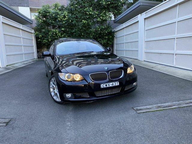 Used BMW 3 Series E92 335i Steptronic, 2007 BMW 3 Series E92 335i Steptronic Black 6 Speed Sports Automatic Coupe