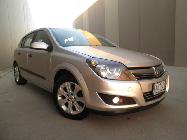 Used Holden Astra AH MY08.5 60th Anniversary, 2008 Holden Astra AH MY08.5 60th Anniversary Quicksilver Flake 4 Speed Automatic Hatchback