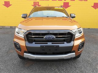 2019 Ford Ranger PX MkIII 2019.00MY Wildtrak Pick-up Double Cab Orange 10 Speed Sports Automatic.