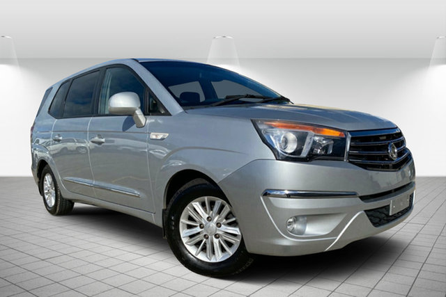 Used Ssangyong Stavic A100 MY14 , 2014 Ssangyong Stavic A100 MY14 Silver 5 Speed Sports Automatic Wagon