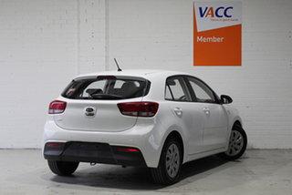2019 Kia Rio YB MY19 S White 4 Speed Sports Automatic Hatchback.