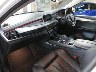 2015 BMW X6 F16 xDrive30d Coupe Steptronic White 8 Speed Sports Automatic Wagon