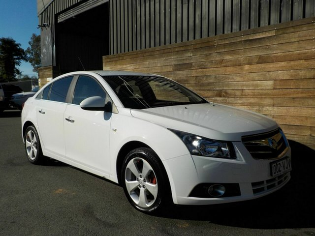 Used Holden Cruze JG CDX, 2010 Holden Cruze JG CDX White 6 Speed Sports Automatic Sedan