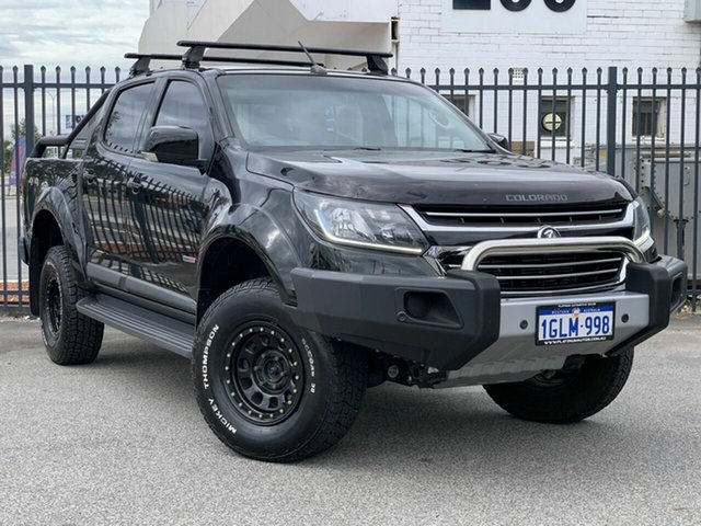 Used Holden Colorado RG MY17 LS Pickup Crew Cab, 2017 Holden Colorado RG MY17 LS Pickup Crew Cab Black 6 Speed Sports Automatic Utility