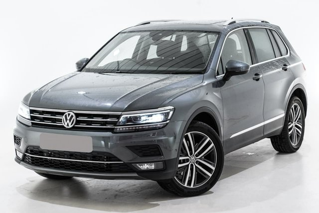 Used Volkswagen Tiguan 5N MY19.5 162TSI DSG 4MOTION Highline, 2019 Volkswagen Tiguan 5N MY19.5 162TSI DSG 4MOTION Highline Grey 7 Speed