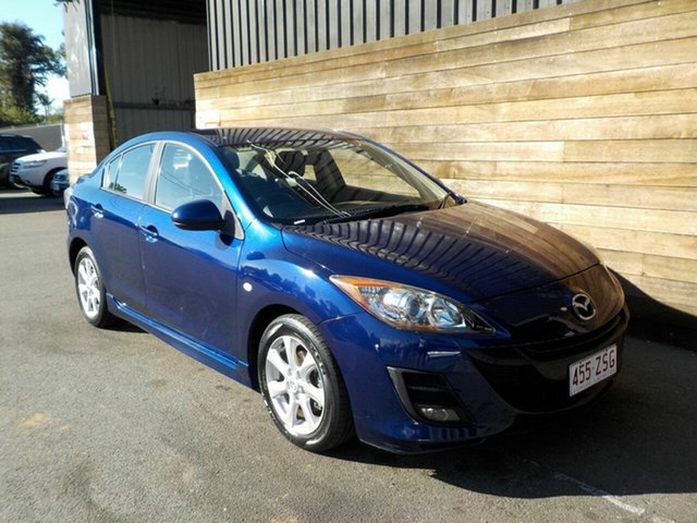 Used Mazda 3 BL10F1 Maxx Activematic Sport, 2009 Mazda 3 BL10F1 Maxx Activematic Sport Blue 5 Speed Sports Automatic Sedan