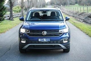 2020 Volkswagen T-Cross C1 MY20 85TSI DSG FWD Life Blue 7 Speed Sports Automatic Dual Clutch Wagon