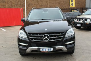 2012 Mercedes-Benz ML250 CDI BlueTEC 166 4x4 Black 7 Speed Automatic Wagon.