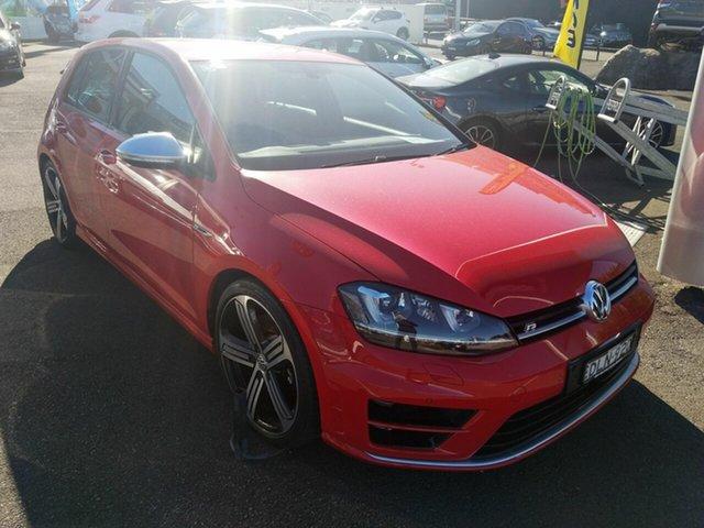 Used Volkswagen Golf VII MY16 R DSG 4MOTION, 2016 Volkswagen Golf VII MY16 R DSG 4MOTION Red/black Vienna Lea 6 Speed