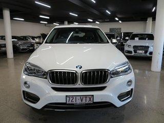 2015 BMW X6 F16 xDrive30d Coupe Steptronic White 8 Speed Sports Automatic Wagon.