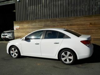 2010 Holden Cruze JG CDX White 6 Speed Sports Automatic Sedan