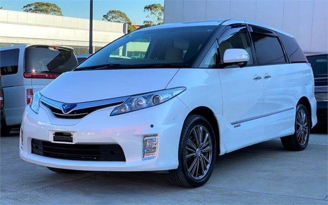 Used Toyota Estima Silverwater, 2010 Toyota Estima White Wagon