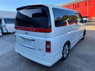 2007 Nissan Elgrand E51 Highway Star White Automatic Wagon