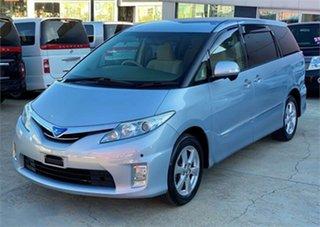 2009 Toyota Estima GSR50W Aeras Blue Automatic Wagon.