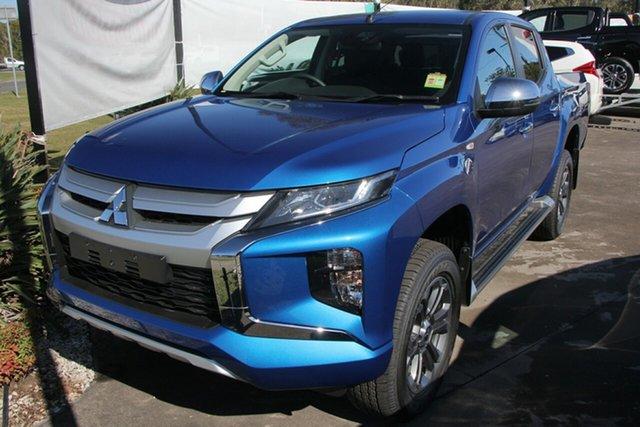 New Mitsubishi Triton MR MY20 GLX-R Double Cab, 2020 Mitsubishi Triton MR MY20 GLX-R Double Cab Impulse Blue 6 Speed Sports Automatic Utility