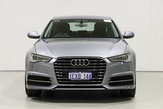 2015 Audi A6 4GL MY16 2.0 TDI S Tronic S-Line Grey 7 Speed Auto Dual Clutch Sedan.