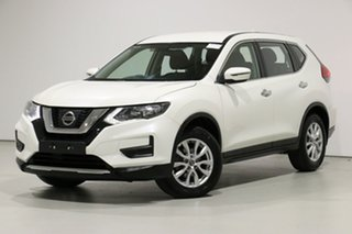 2017 Nissan X-Trail T32 Series 2 ST (4WD) Ivory Pearl Continuous Variable Wagon.