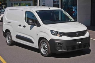2019 Peugeot Partner K9 MY19 92 Low Roof LWB HDi Bianca White 5 Speed Manual Van