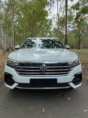 2020 Volkswagen Touareg CR MY20 190TDI Tiptronic 4MOTION Premium Pure White 8 Speed Sports Automatic.