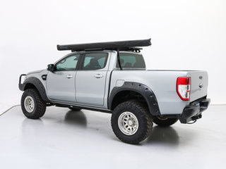 2016 Ford Ranger PX MkII MY17 XLT 3.2 (4x4) Silver 6 Speed Automatic Dual Cab Utility