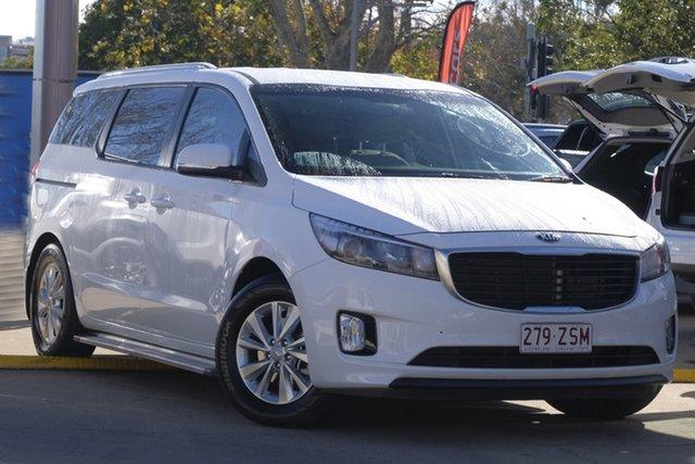 Used Kia Carnival YP MY17 SI, 2017 Kia Carnival YP MY17 SI White 6 Speed Sports Automatic Wagon