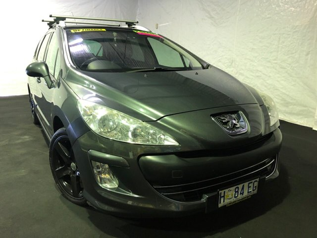 Used Peugeot 308 T7 Sportium Touring, 2011 Peugeot 308 T7 Sportium Touring Grey 6 Speed Sports Automatic Wagon