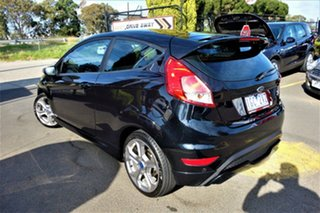 2016 Ford Fiesta WZ ST Black 6 Speed Manual Hatchback