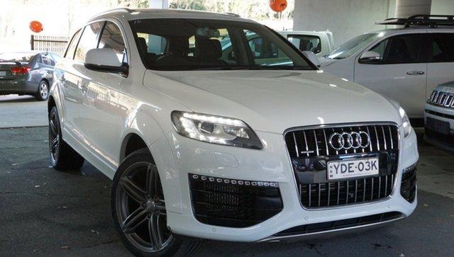Used Audi Q7 4L MY15 TDI Tiptronic Quattro, 2015 Audi Q7 4L MY15 TDI Tiptronic Quattro White 8 Speed Sports Automatic Wagon