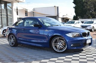 2013 BMW 1 Series E82 LCI MY1112 120i Steptronic Blue 6 Speed Sports Automatic Coupe.
