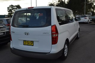 2010 Hyundai iMAX TQ-W White 4 Speed Automatic Wagon.