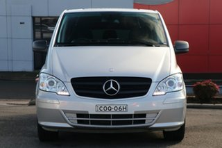 2013 Mercedes-Benz Vito 639 MY13 122CDI LWB Silver 5 Speed Automatic Van