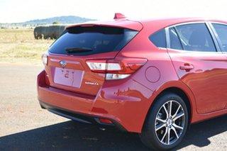 2018 Subaru Impreza MY18 2.0I Premium (AWD) Pure Red Continuous Variable Hatchback