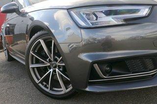 2016 Audi A4 B9 8W MY16 sport Avant S Tronic Quattro Grey 7 Speed Sports Automatic Dual Clutch Wagon.