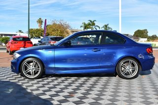 2013 BMW 1 Series E82 LCI MY1112 120i Steptronic Blue 6 Speed Sports Automatic Coupe