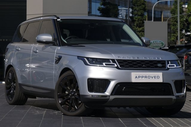 Used Land Rover Range Rover Sport L494 19MY SDV6 183kW SE, 2018 Land Rover Range Rover Sport L494 19MY SDV6 183kW SE Indus Silver 8 Speed Sports Automatic