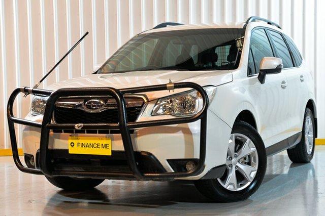 Used Subaru Forester S4 MY15 2.0D-L CVT AWD, 2015 Subaru Forester S4 MY15 2.0D-L CVT AWD White 7 Speed Wagon